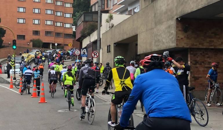 Cronoescalada a Patios: Garrote y zanahoria, por cuatro horas estuvo cerrada la vía a La Calera