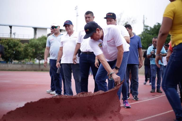 Juegos Nacionales Cartagena y Bolívar 2019: Cartagena, comprometida con adecuación de escenarios para Juegos Nacionales