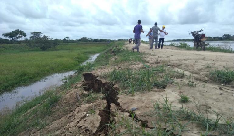 Emergencia Hidroituango: Alarma por debilitamiento de un jarillón del río Cauca en Majagual