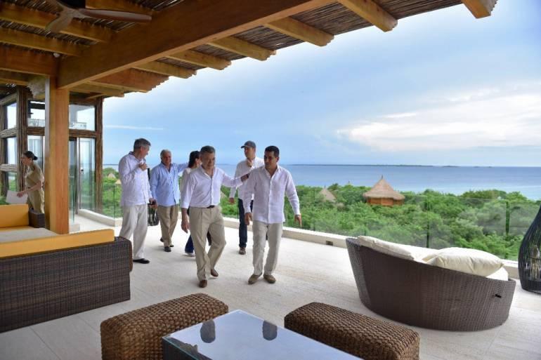 Hotel inaugurado por Santos en Barú amplía oferta turística en Cartagena: Hotel inaugurado por Santos en Barú amplía oferta turística en Cartagena