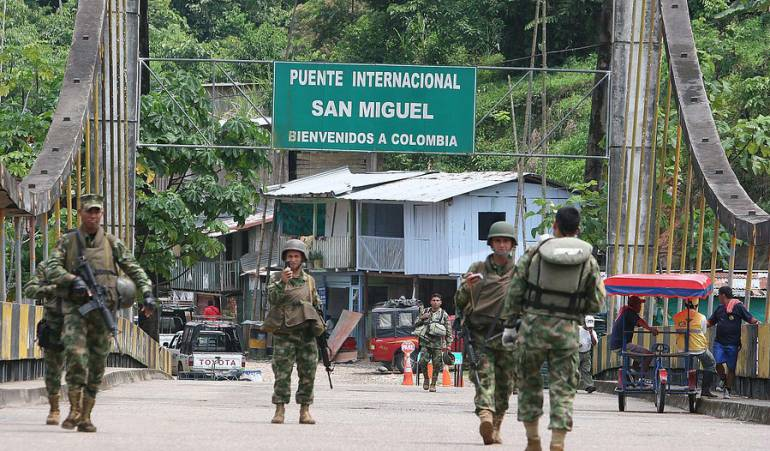 Cierre Frontera Ecuador: Se reduce tiempo de cierre en la frontera con Ecuador
