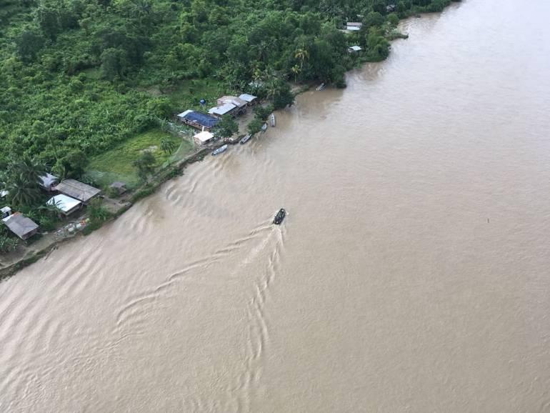 Orden público en el Río Naya: Desplazamientos, confinamiento y grave riesgo en Río Naya