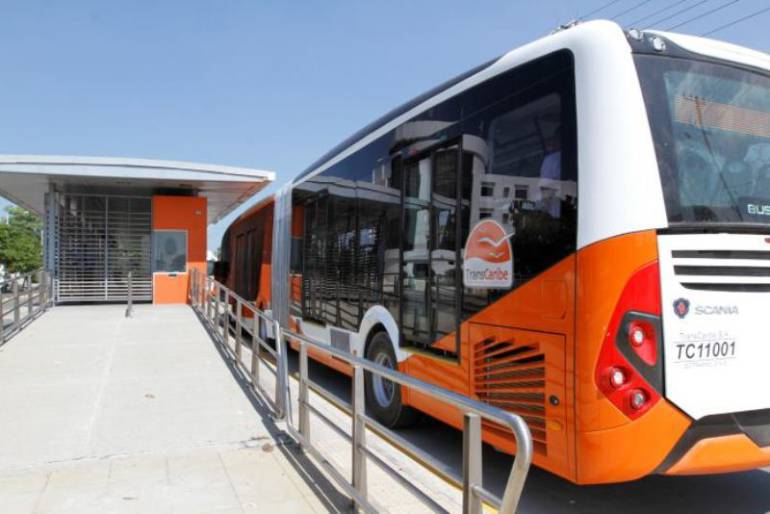 Transcaribe estudia ampliar servicio a zona de conurbación