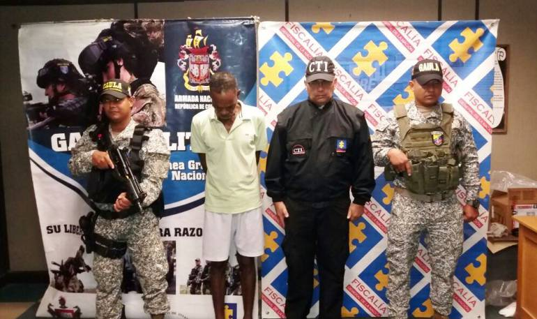 Armada nacional bolívar: Armada Nacional captura en Bolívar sujeto acusado de cuatro asesinatos