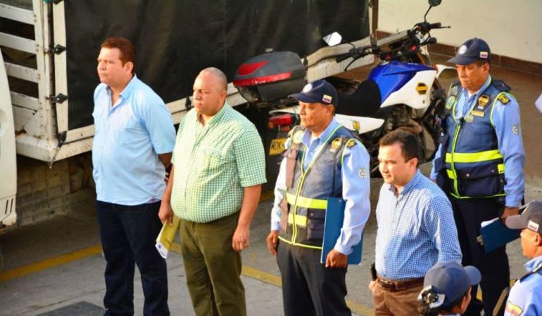 DATT Cartagena: Nuevo director y subdirector operativo del DATT Cartagena inician mandato
