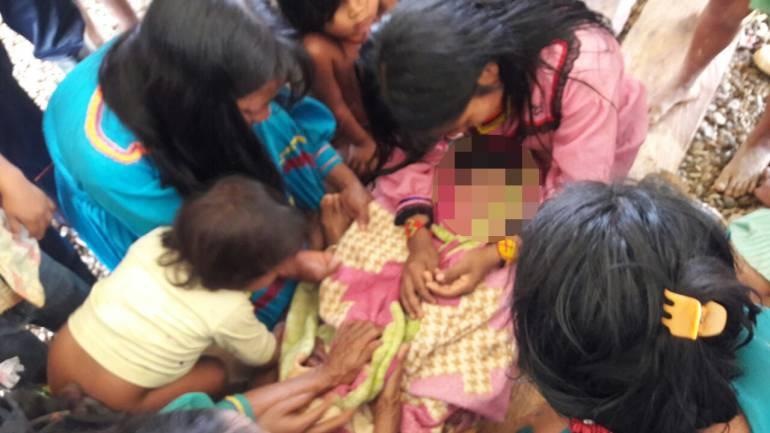 Muerte niña indígena de Risaralda: Niña indígena murió ahogada cuando intentaba cruzar un río