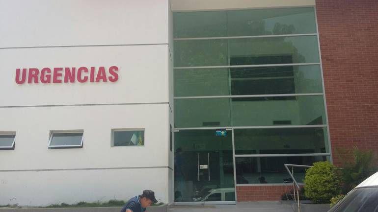 Bebé herido en Sabanalarga en cuidados intensivos: Bebé herido en Sabanalarga en cuidados intensivos