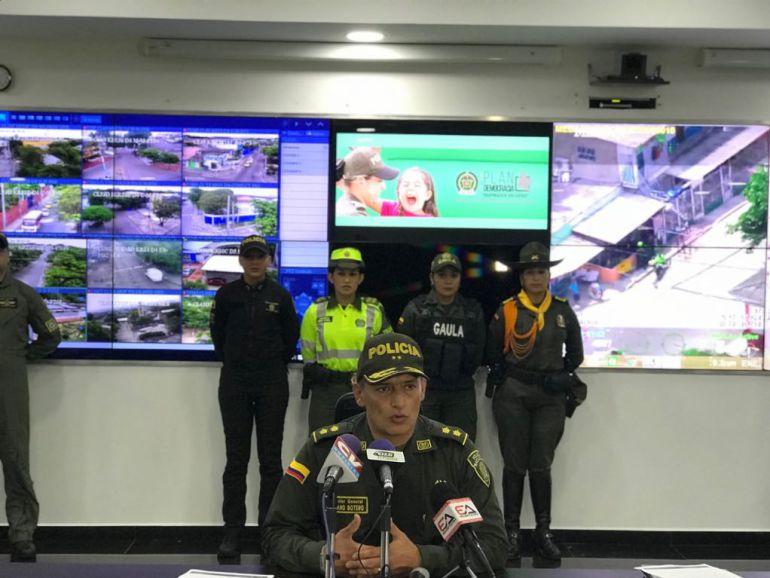 Seguridad para las elecciones en Barranquilla: Más de 1.300 policías garantizan seguridad en las elecciones