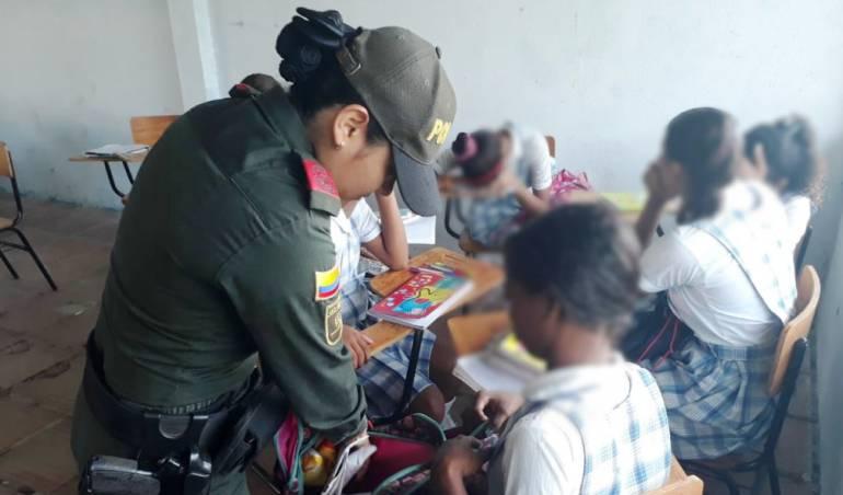 Arjona Bolívar: Operativos de control en institución educativa en Arjona Bolívar