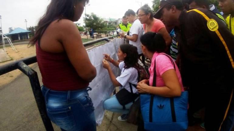 Confusión por la ausencia de biometría en puestos de votación de Cartagena: Confusión por la ausencia de biometría en puestos de votación de Cartagena