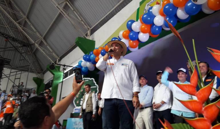 109.072 Votos obtuvo Iván Duque candidato del Centro Democrático