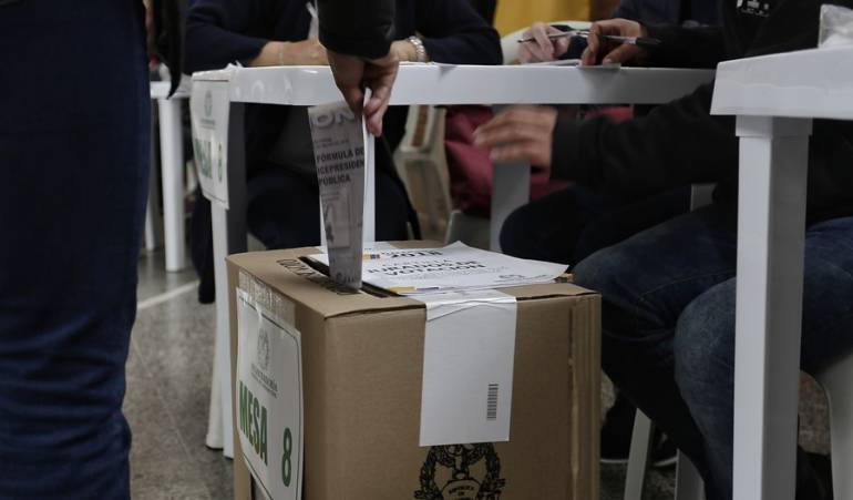 Elecciones Presidenciales de Colombia 2018: Abstención disminuyó en primera vuelta presidencial en Boyacá