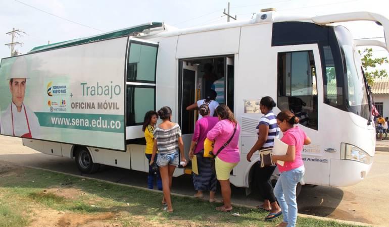 Sena Cartagena: Aula Móvil de Empleo del SENA llega a Bolívar
