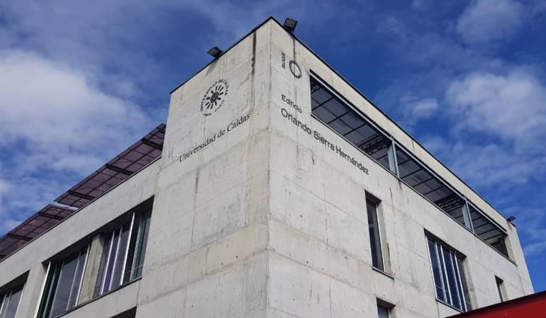 Sede central de la Universidad de Caldas