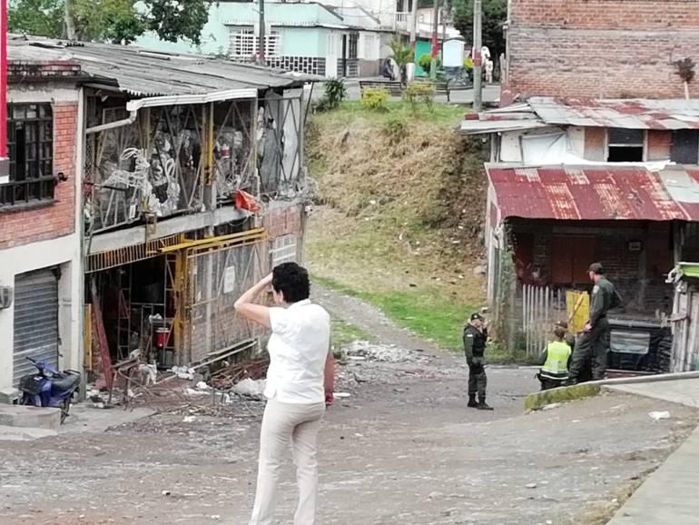 Granada en Santa Rosa de Cabal: Encontraron una granada en una chatarrería de Santa Rosa de Cabal