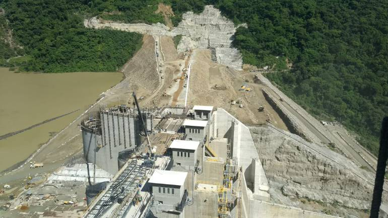 Reiniciaron trabajos en Hidroituango