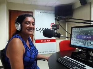 Marta Gómez atleta del Quindío