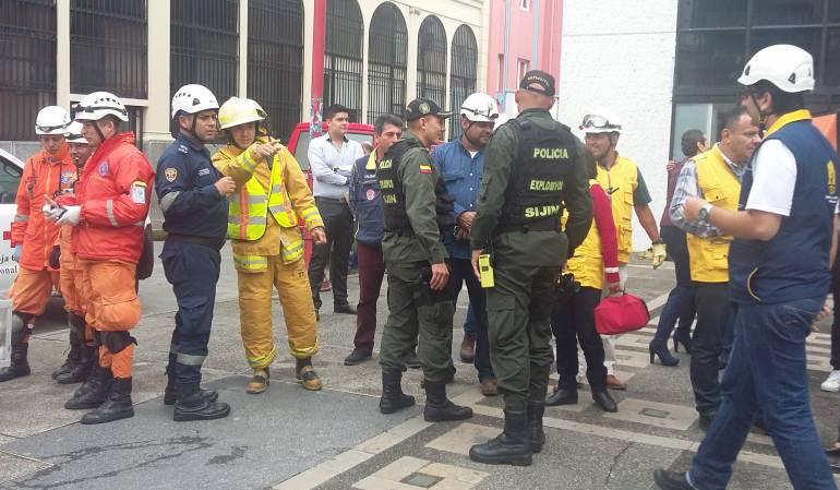 Bomberos, Defensa Civil, Atención del Riesgo, Hidruitango: Organismo de Socorro en Caldas, listos para apoyar a Ituango
