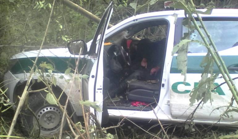 ACCIDENTE DE TRÁNSITO: Un patrullero muerto y 11 heridos deja accidente en el Huila