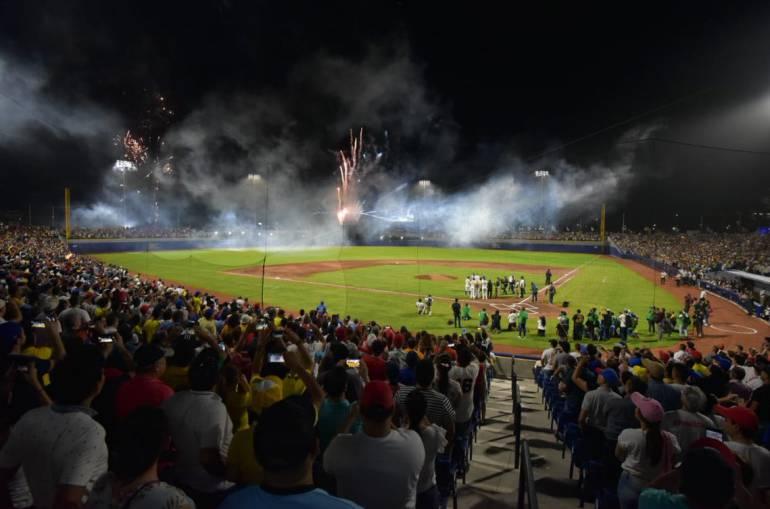 Con triunfo de Colombia inauguran el estadio Édgar Rentería