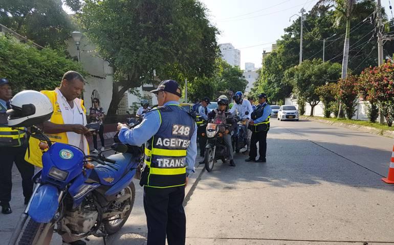 Datt Cartagena: DATT Cartagena aumenta sanciones a conductores infractores