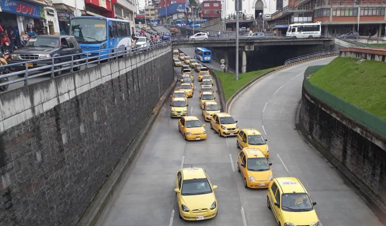 La RAP Eje Cafetero analiza proyecto con los taxistas