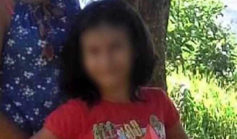 JUDICIAL, MUERTE, NIÑAS: Encuentran muerta a la niña de 11 años de Curití en Santander