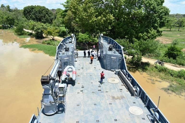 Armada Nacional se declara en 'alistamiento' en el río Cauca bolivarense