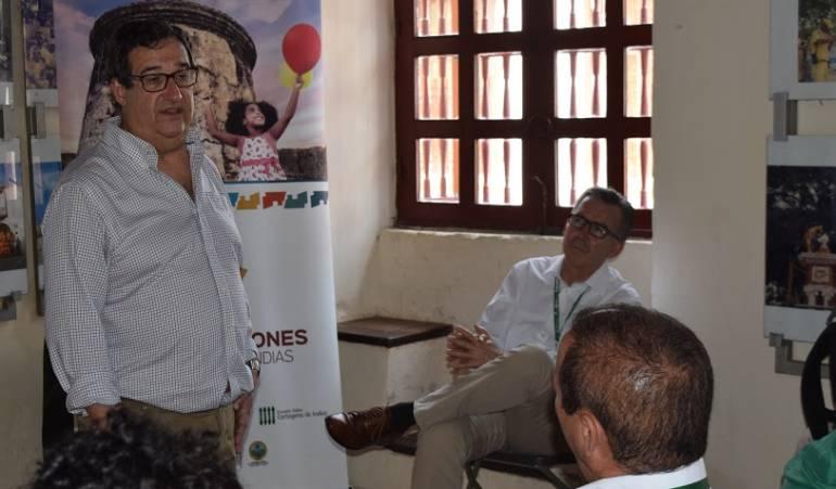Escuela Taller de Cartagena capacita a guías de turismo