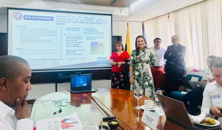 Bolívar pondrá en marcha un programa para la sostenibilidad acuícola