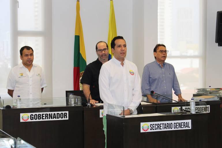 Asamblea de Bolívar instaló segundo período de sesiones ordinarias