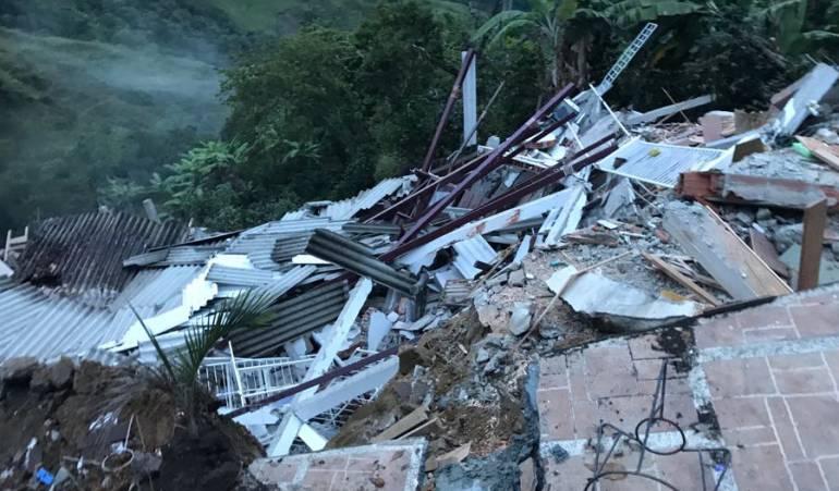 Emergencia, afectados, fuertes lluvias, alerta roja Riosucio, Salamina: Fuertes lluvias causan estragos en varios municipios de Caldas