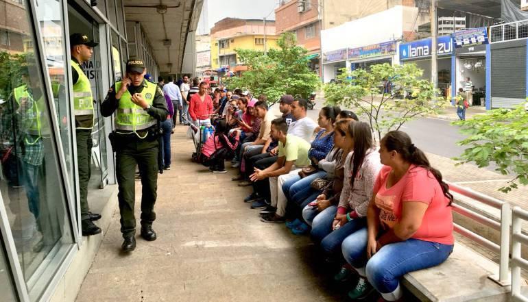 CENSO VENEZOLANOS BUCARAMANGA MIGRACIÓN TRABAJO COMIDA: Última semana del censo para venezolanos en Bucaramanga