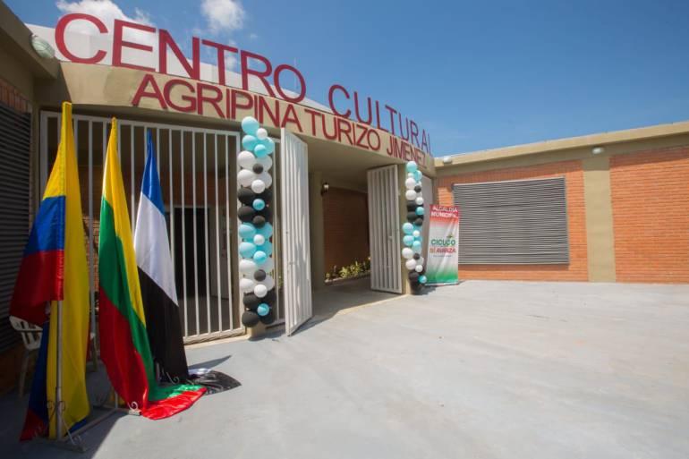 Abren Centro Cultural Agripina Turizo en Cicuco, Bolívar