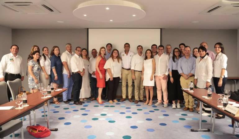 Concejo, Alcaldía y sector privado sellan pacto pro desarrollo de Cartagena