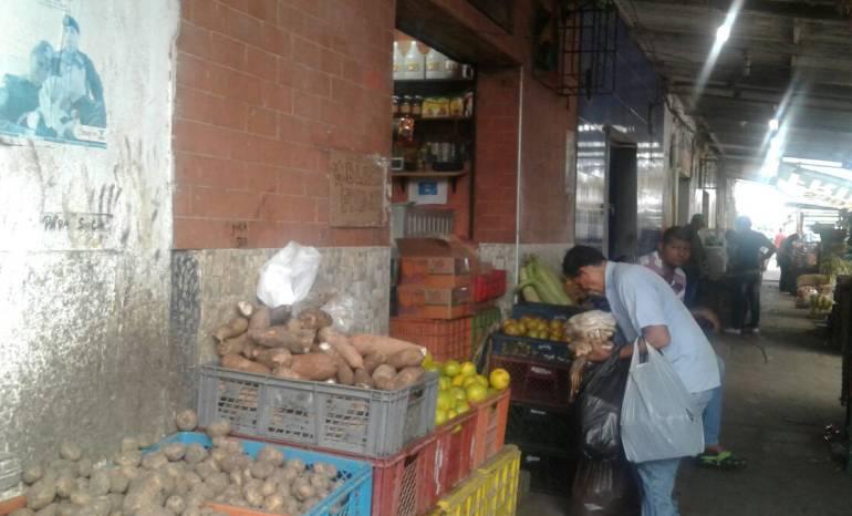 Suben los precios de alimentos en el mercado de Barranquilla