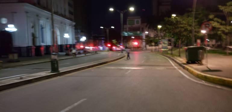 BUCARAMANGA TAXIS PROTESTA PIRATERÍA: Así amanece Bucaramanga en la jornada de protesta de taxistas
