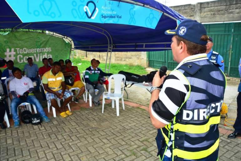 Más de 500 motociclistas de Cartagena se capacitaron durante fin de semana: Más de 500 motociclistas de Cartagena se capacitaron durante fin de semana