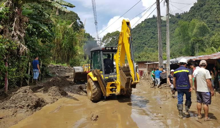 Rehabilitación de vías en la zona rural de Ibagué