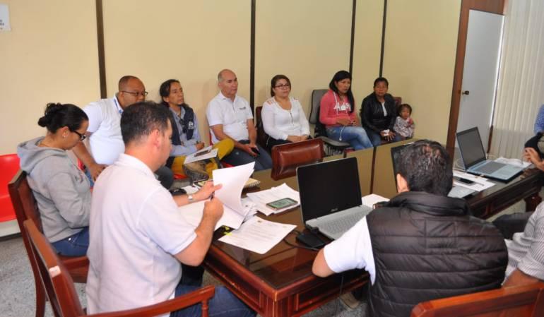 Seis aulas para la comunidad indígena de Suratena en Marsella