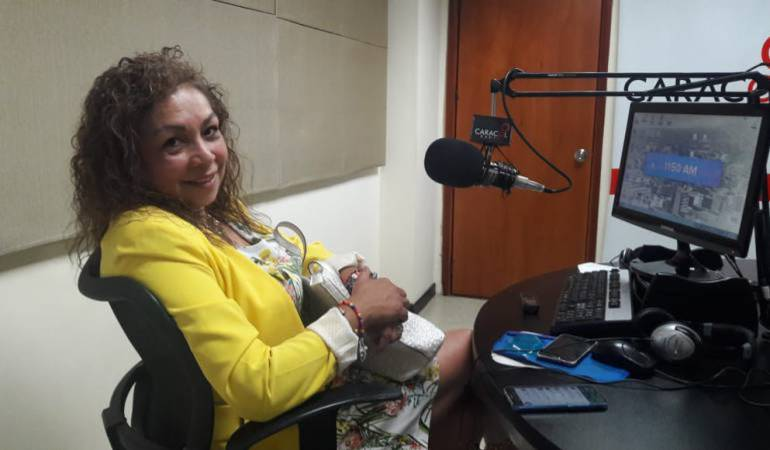 Gloria Cecilia García actualmente es la secretaria de gobierno de Armenia