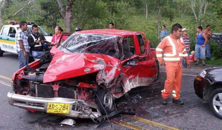 Accidentes en Quindío: En el Quindío, los accidentes de tránsito con lesionados van en aumento