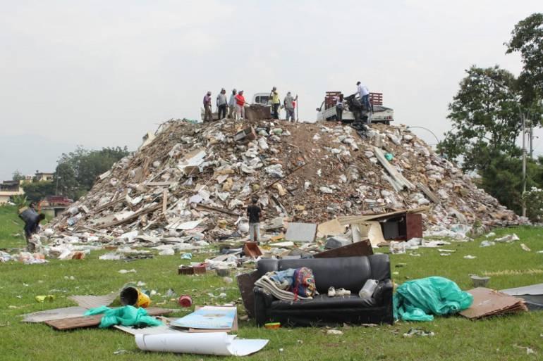 Escombrera de la 50: Se inicia evacuación de residuos en Escombrera de la 50