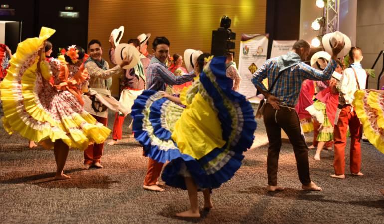 Lanzamiento Festival Folclórico en Bogotá