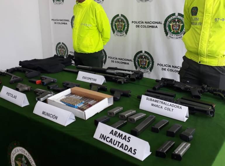 Policía prende alarmas en Barranquilla tras incautación de armamento