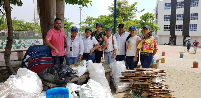 Alcaldía de Cartagena y Coreciclarec iniciaron ruta de reciclaje: Alcaldía de Cartagena y Coreciclarec iniciaron ruta de reciclaje