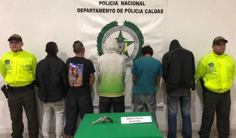 """Capturas, los """"toños"""", Policía de Caldas, Desarticulada banda en Neira: Capturados los """"Toños"""", quienes tenían azotada a la comunidad de Neira"""