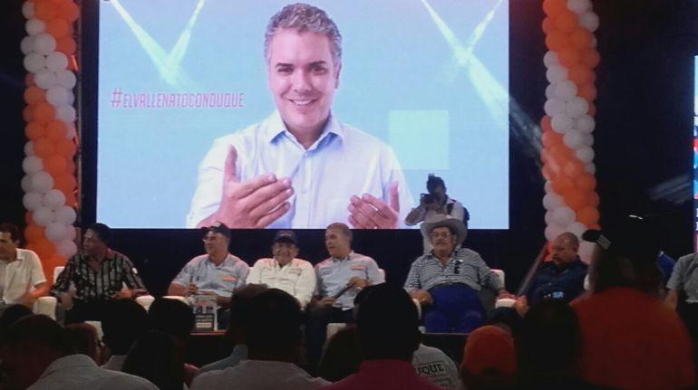 Artistas vallenatos ofrecen respaldo a la campaña de Iván Duque: Vallenatos ofrecen respaldo a la campaña de Iván Duque