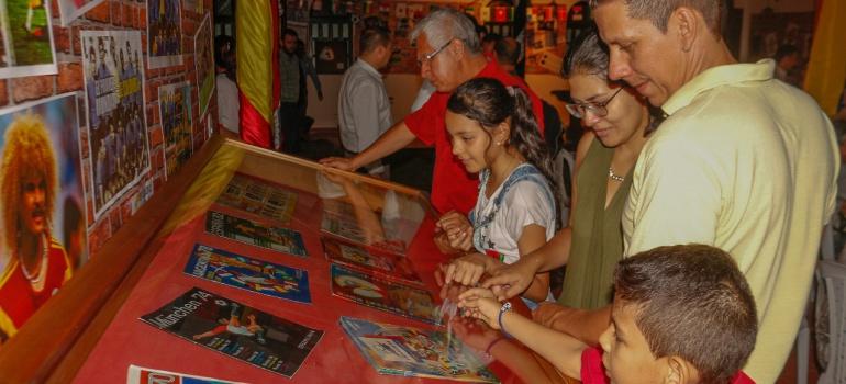 MUSEO FUTBOL MUNDIAL FLORIDABLANCA: Museo del mundial en Floridablanca cerrará este próximo 15 de julio