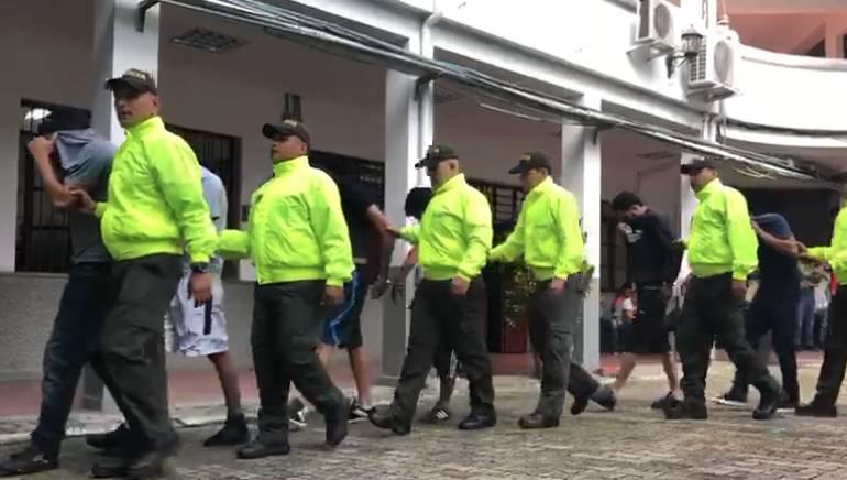 Encarcelan a banda criminal por desplazar a un menor de edad
